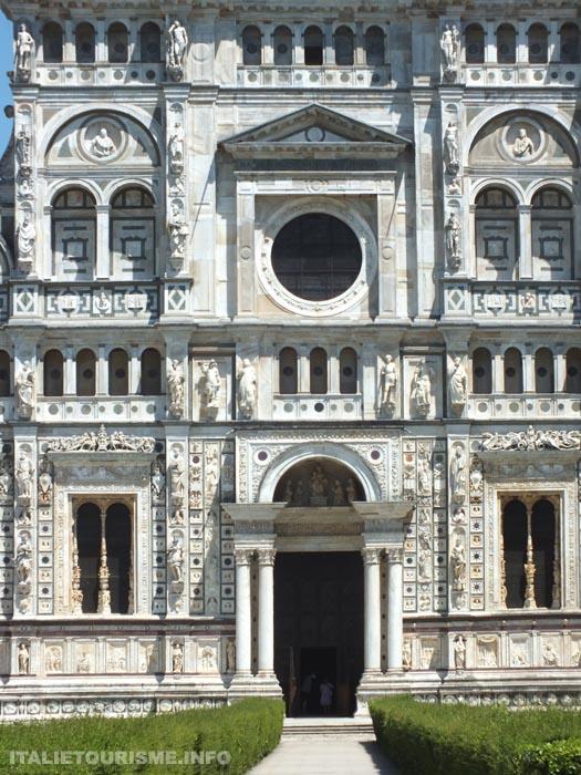 La Chartreuse de Pavie façade