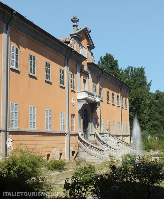 photos du jardin botanique de Pavie, l'Italie en photos