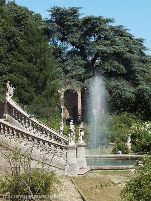 Jardin botanique Pavie Italie
