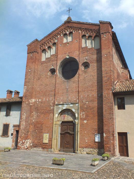 Photo de l'Eglise de Saint Lanfranco a Pavie Italie