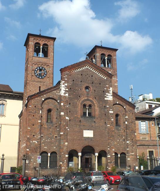 Eglise du Saint Sépulcre, photos de Milan