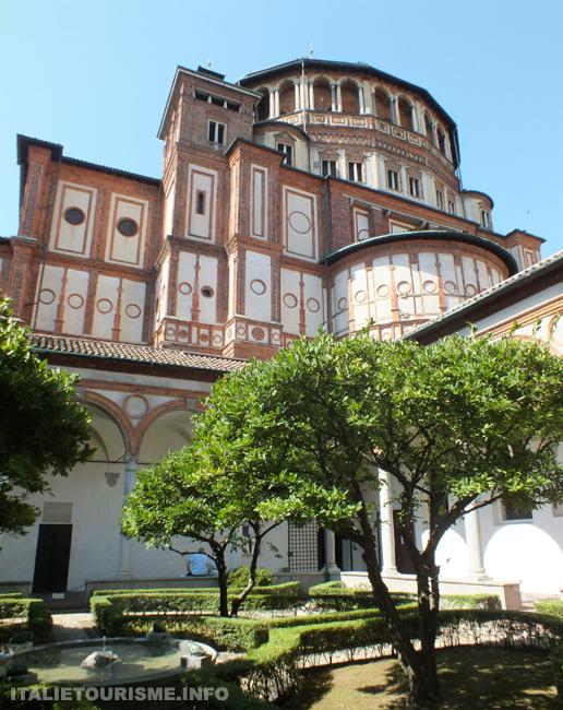 Eglise Sainte-Marie-des-Grâces Milan, photos de Milan