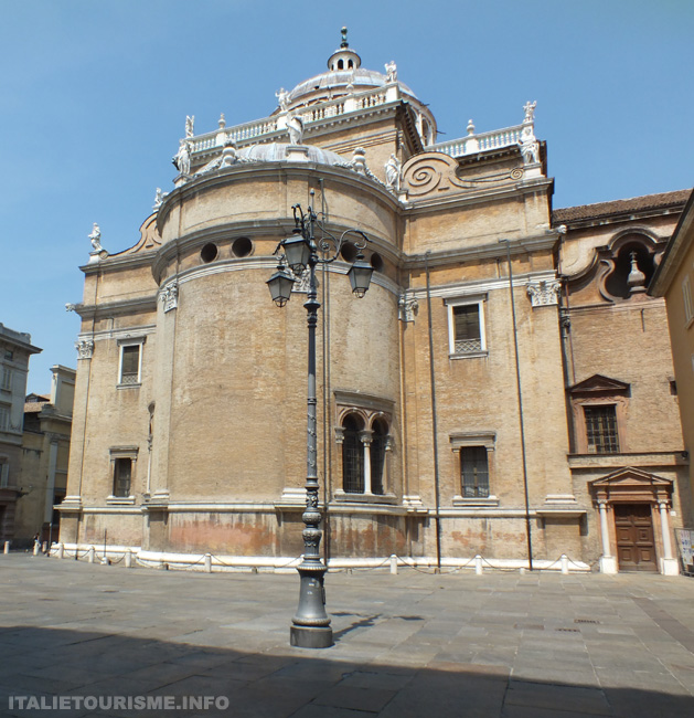Eglise Santa Maria della Steccata Parme Italie tourisme vacances voyage