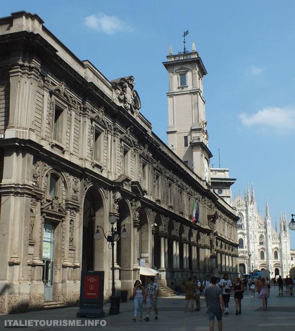 Palais des jurisconsultes Milan tourisme, photos de Milan