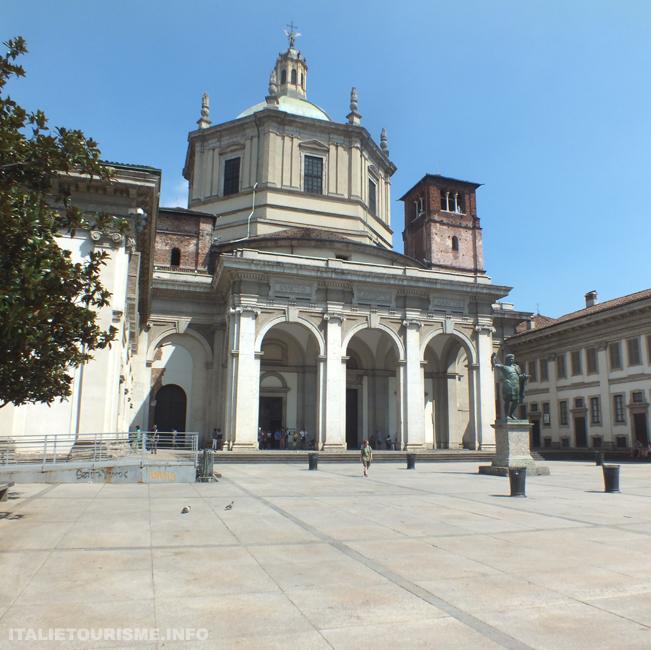 Eglise de Saint Laurent Milan Italie, photos Milan
