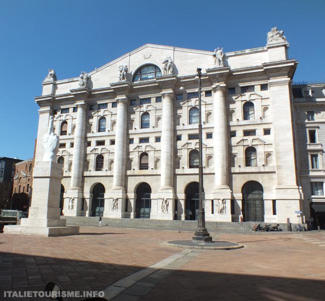 Palais de la Bourse Milan Italie