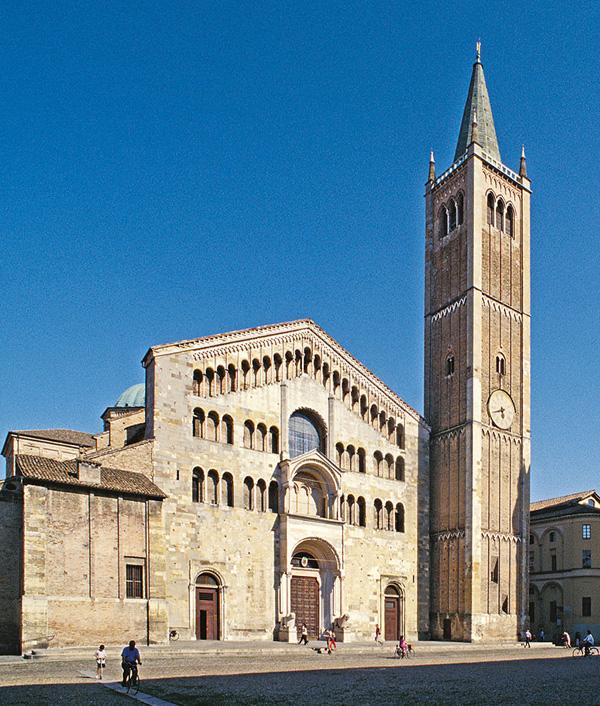 Visiter Parne en 1 jour: la Cathédrale. Parme tourisme