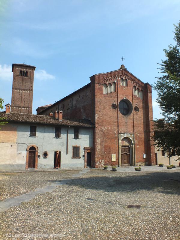 Visiter Pavie en 1 jour. Eglise de San Lanfranco Pavie