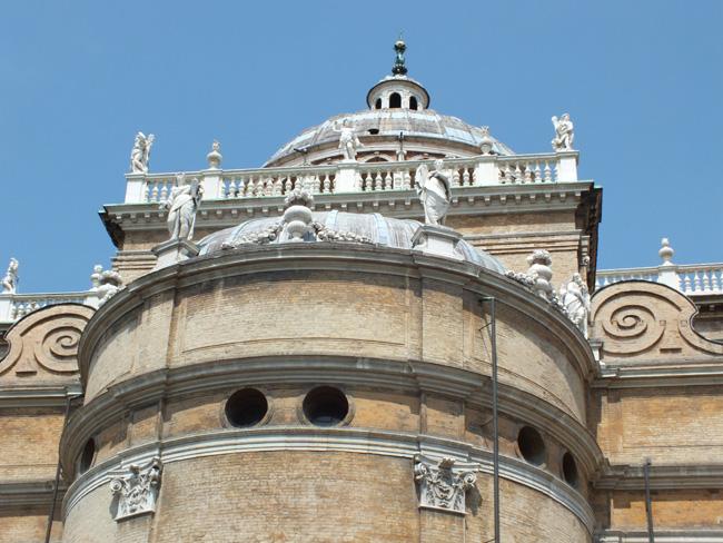 Basilique Santa Maria della Steccata (Sainte-Marie-de-la-Palissade) Parme Italie