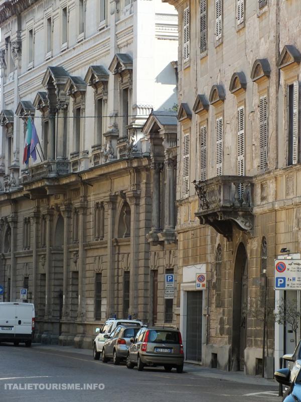 Corso Garibaldi à Plaisance Italie Piacenza centre ville