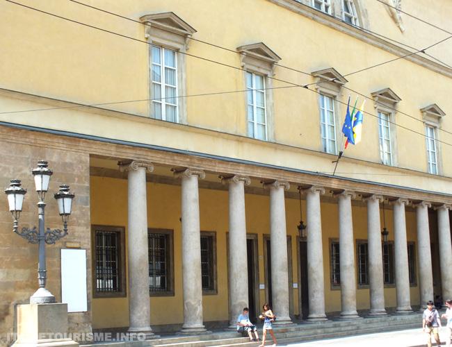 Italie tourisme Parme Teatro Regio