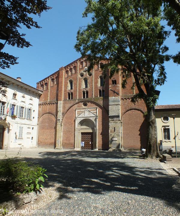 Visiter Pavie, églises romanes lombardes, San Pietro in Ciel d'Oro