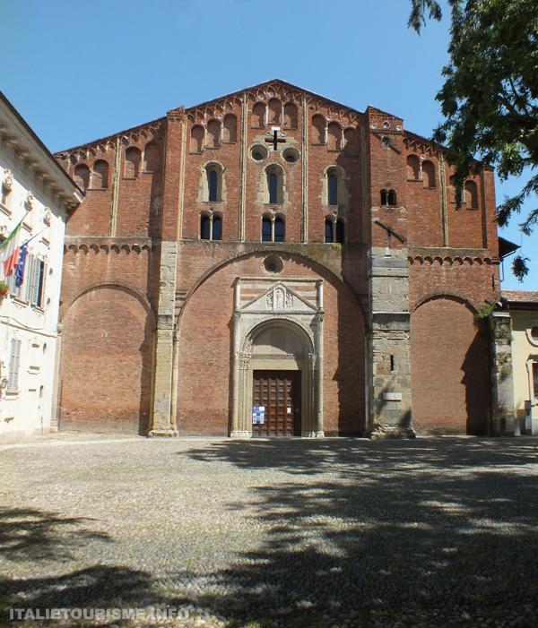 Visiter Pavie: Basilique San Pietro in Ciel d'Oro. Photos Pavie Italie