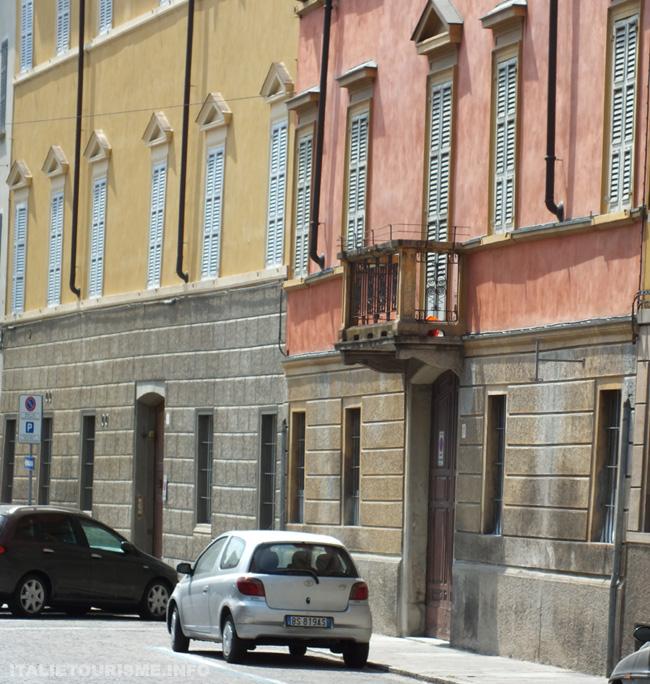Visiter Parme: la Strada S.Nicolò. Parme en 1 jour. que voir à Parme?