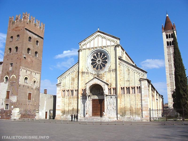 Visiter Vérone: l'église San Zeno