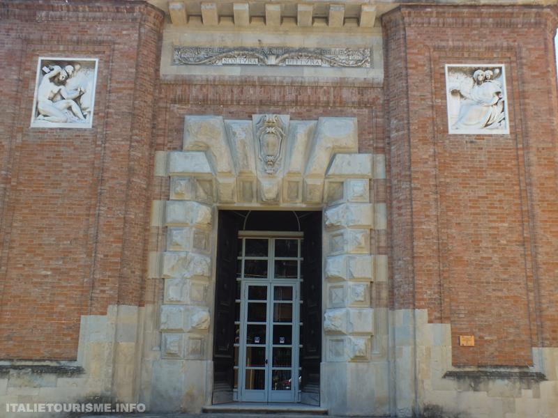 Visiter Plaisance Italie: Musée d'Art moderne Ricci-Oddi. Plaisance tourisme, que faire et voire à Plaisance