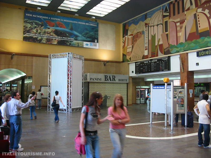gare des trains Vérone