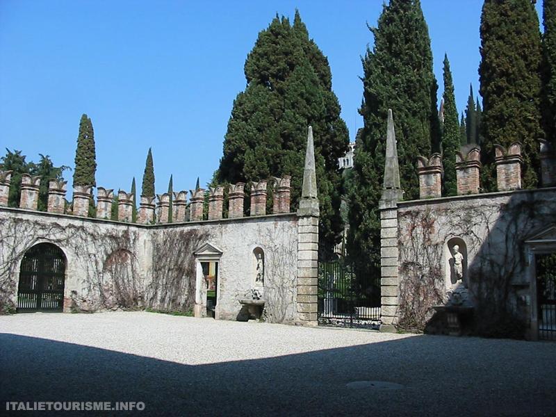 Visiter Vérone. Giardini Giusti. Jardins Giusti et Palazzo Giusti. Vérone tourisme