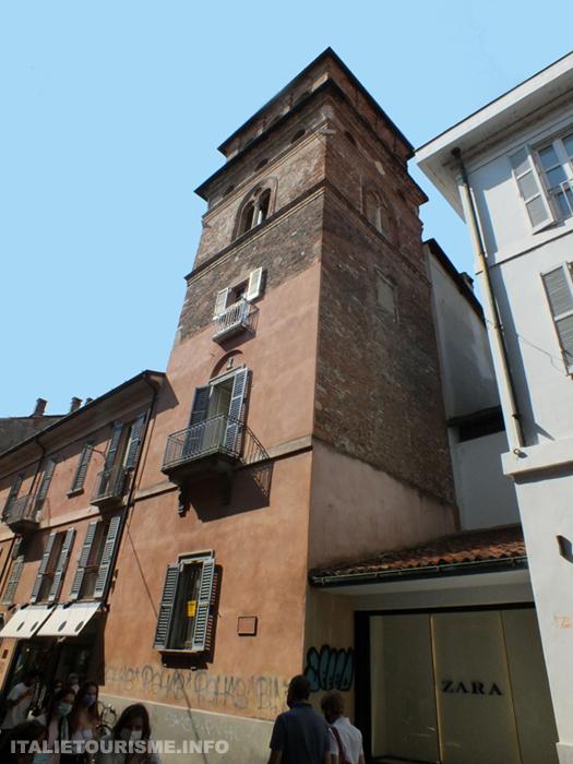 Visiter Pavie en 1 jour: la Tour Bottigella. Pavie Italie tourisme