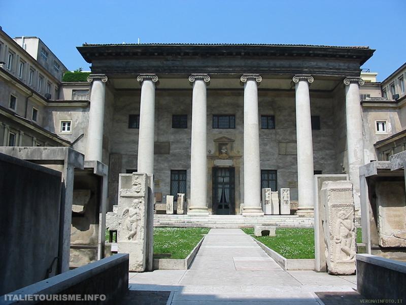 Visiter Vérone en Italie: Museo lapidario maffeiano. Vérone tourisme