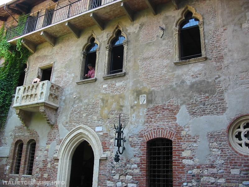 Maison de Juliette à Vérone Italie