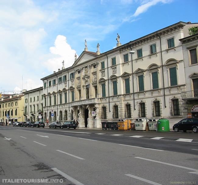 Palazzo Orti Manara Vérone Italie. Visiter Vérone. Vérone tourisme