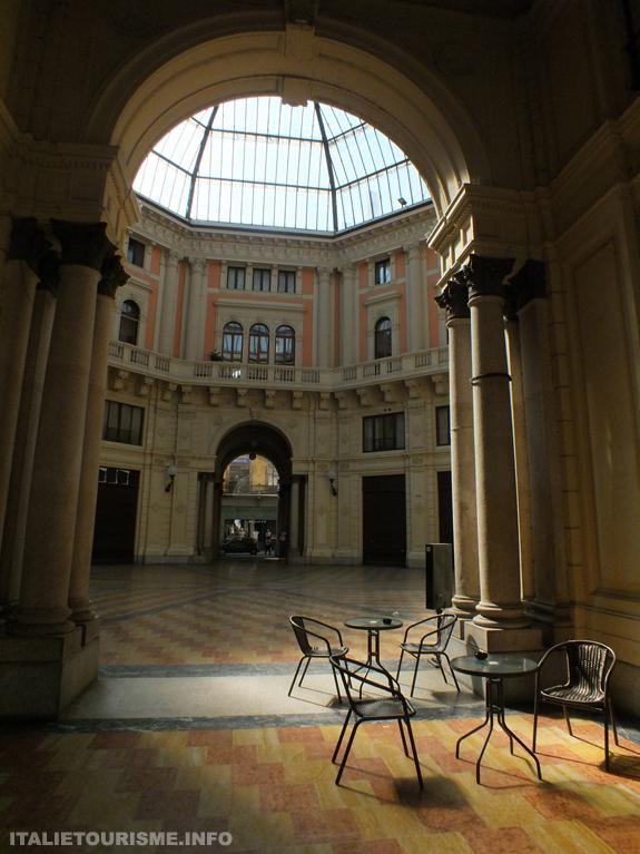 Visiter Pavie. La Galérie Arnaboldi. QUe voir à Pavie en Italie?