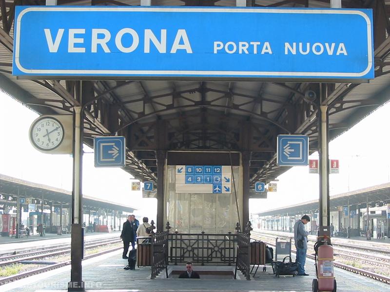 gare des trains de Vérone: Verona Porta Nuova