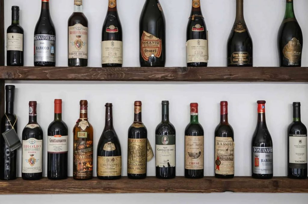 Restaurant Vescovo Moro Vérone: vins