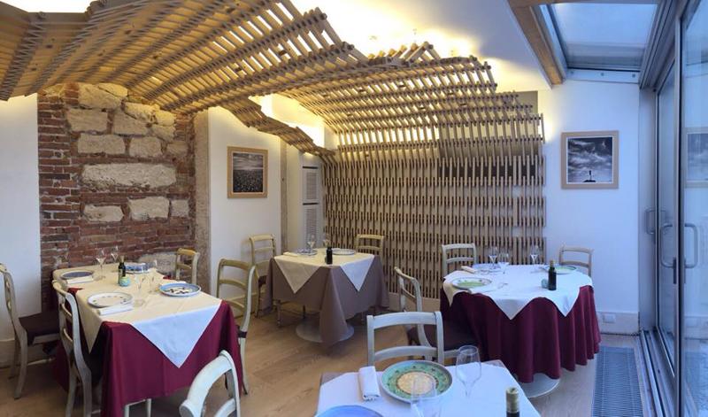L'interieur du Restaurant Oste Scuro ° Vérone