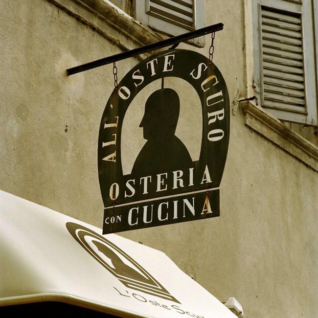 Restaurante Oste Scuro Vérone. Visiter Vérone